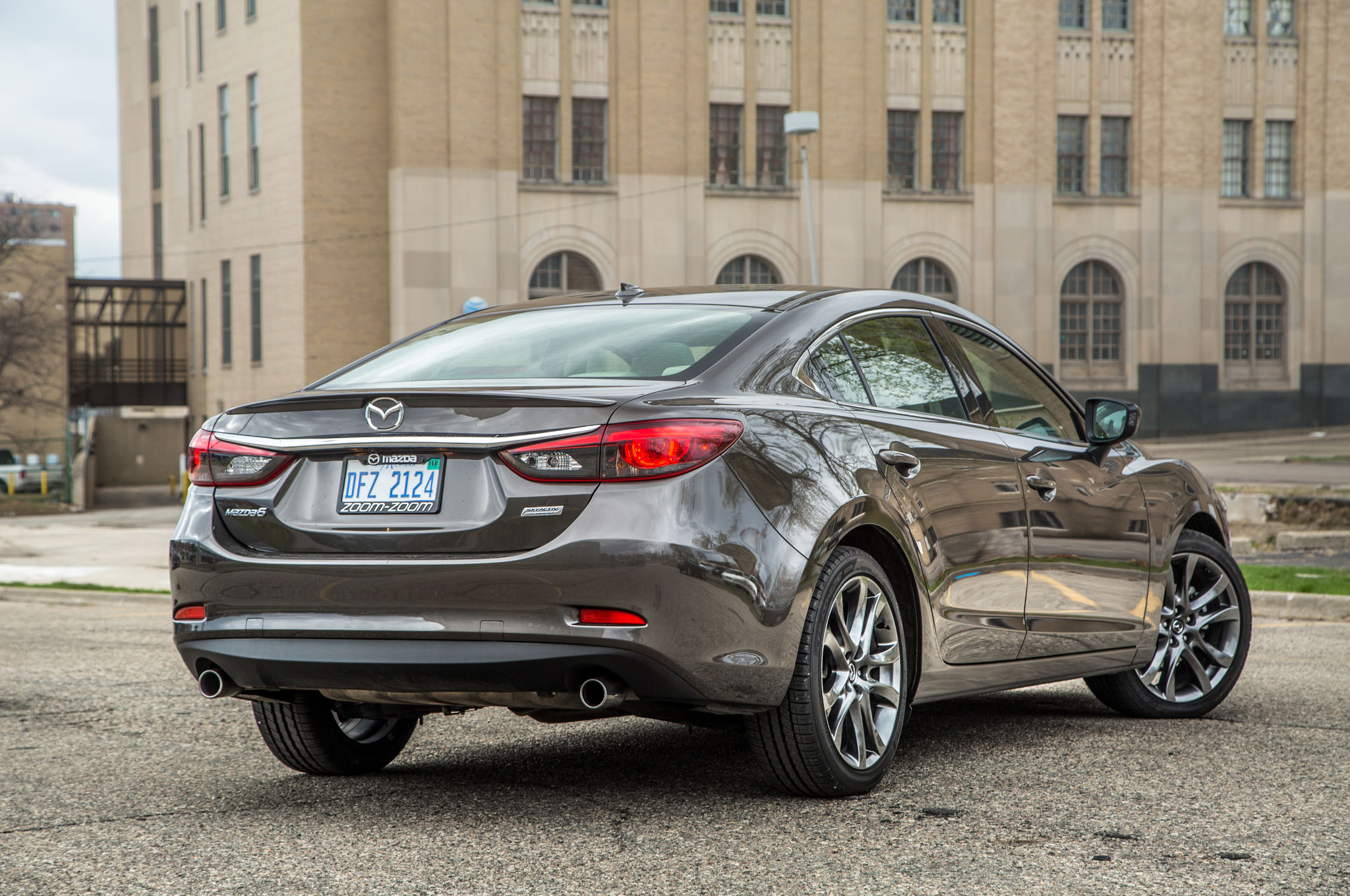 ... acknowledge the Mazda6's relative light weight, which means it has a  bit less insulation than the competition, which, in the end, means more  road noise.