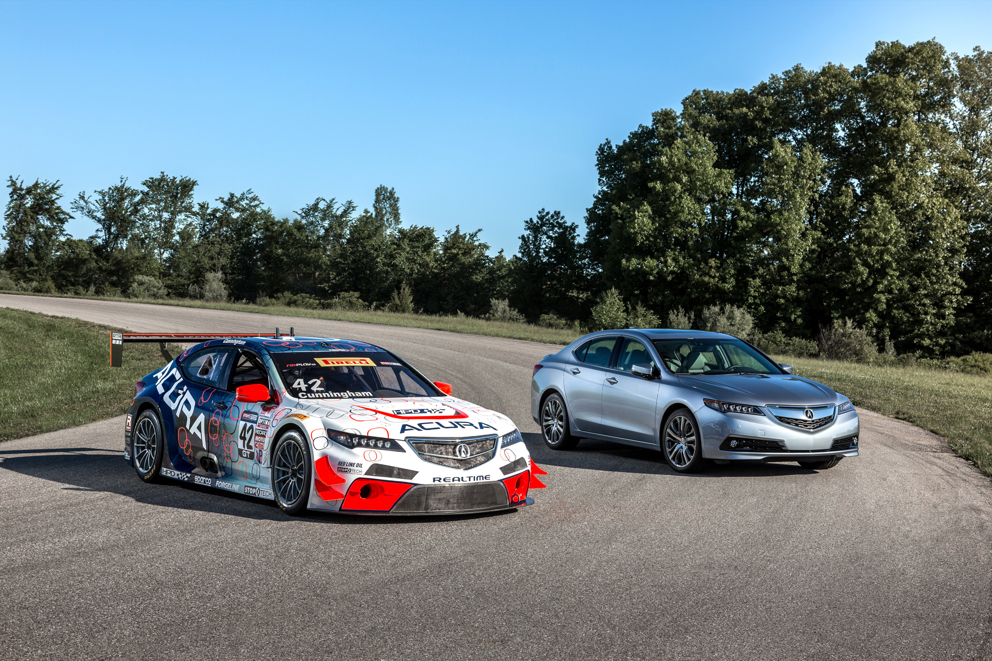 Lapping Gingerman Raceway In An Acura Tlx Gt Race Car