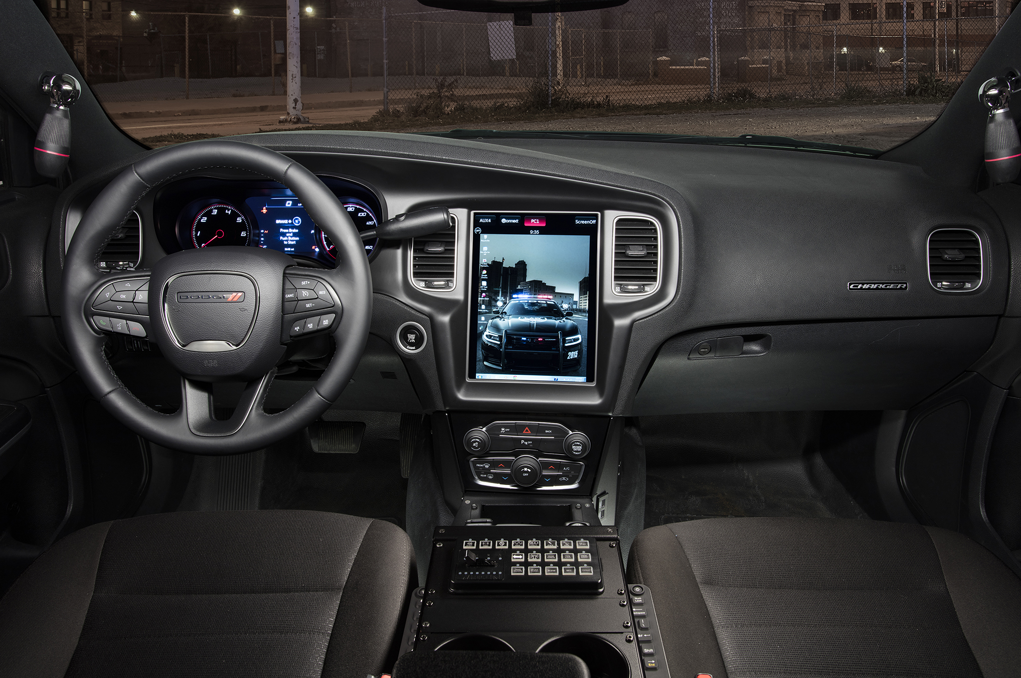 2016 Dodge Charger Pursuit Adds 12 1-inch Touchscreen Computer