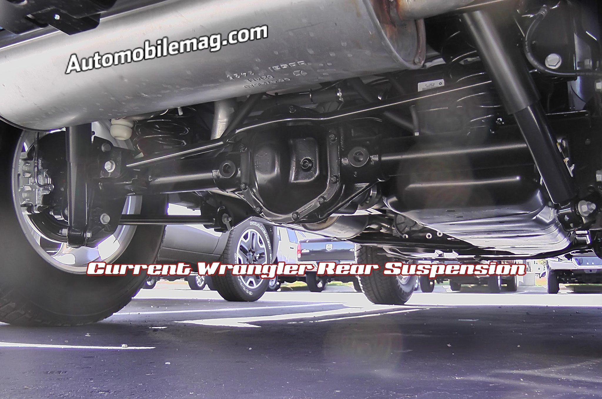 Jeep Jk Wrangler Suspension Diagram Wiring Schematic Data Jeeptjsuspensiondiagram Basic Doityourself Front 2018 Prototype Spied With Body Modifications Brake Line