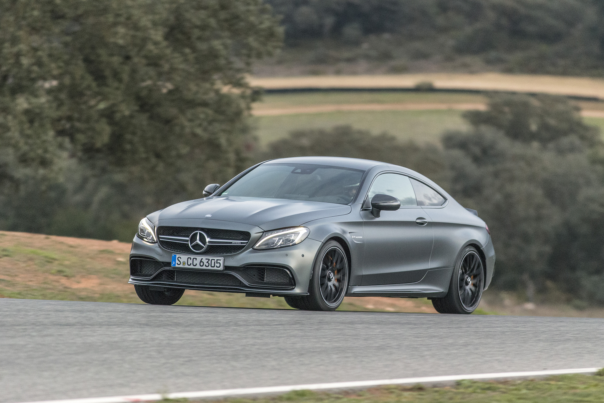 2017 Mercedes Amg C63 S Coupe First Drive