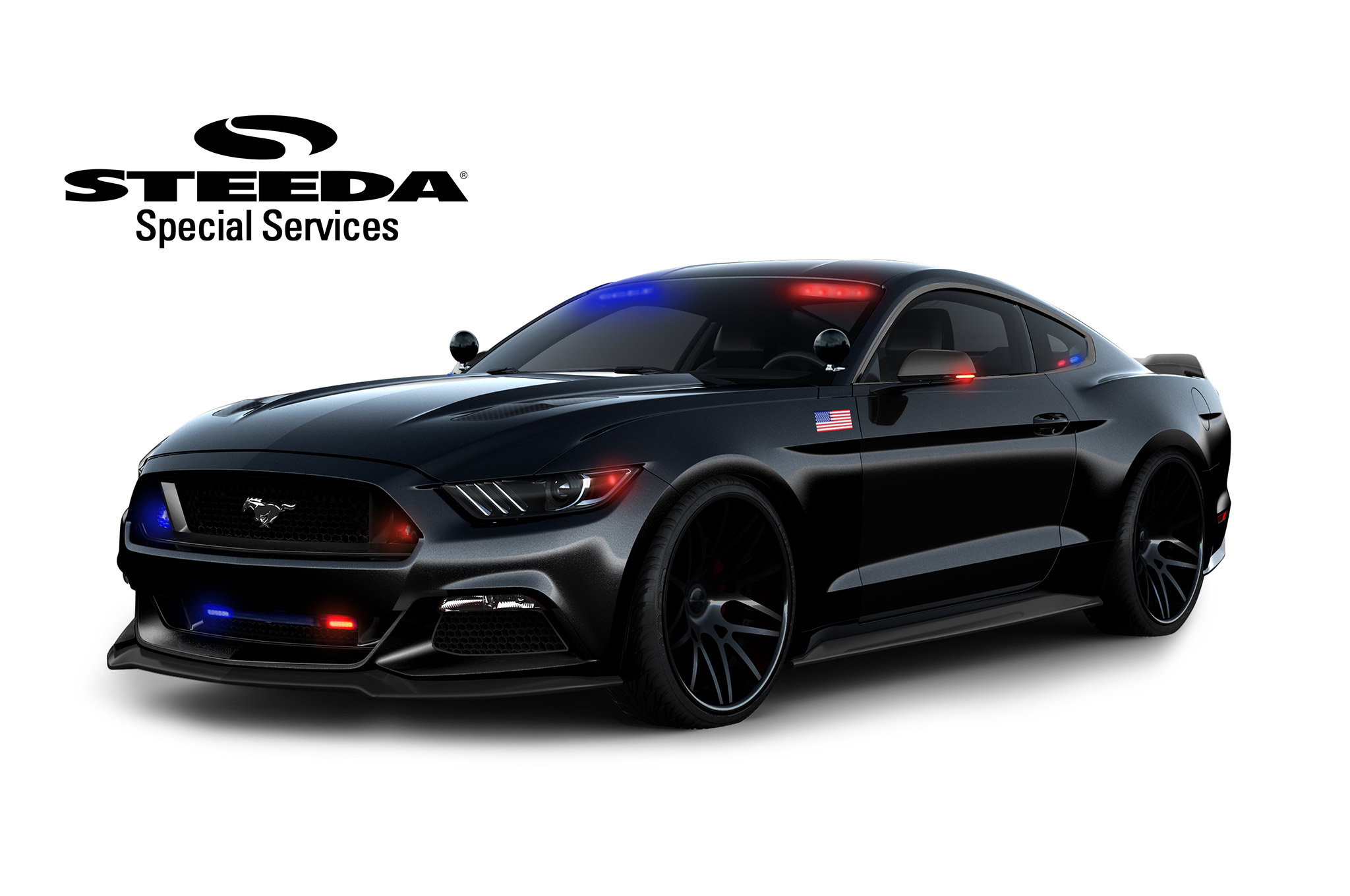You cant outrun the steeda 2016 ford mustang police interceptor
