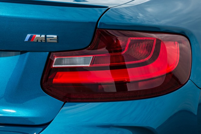 2016 BMW M2 Coupe taillight