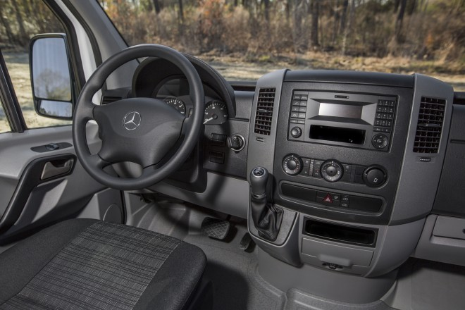 2016 Mercedes Benz Sprinter Worker interior 1