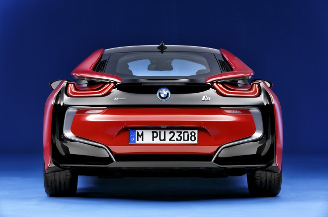 2017 BMW i8 Protonic Red Edition rear