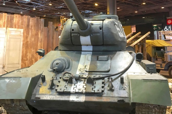 Red Army T 34 Tank