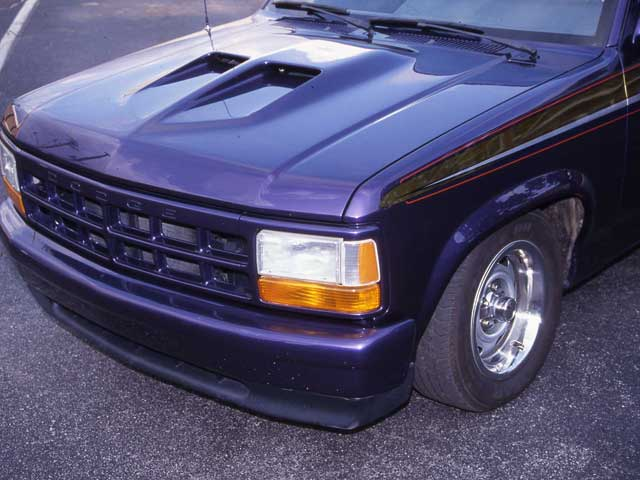 Mopp Z Dodge Dakota Pickup Truck Proglass Hood on Dodge Dakota Custom Hoods