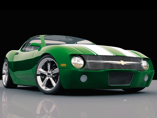 Chevy Camaro Fifth-Generation Concept Car - Featured