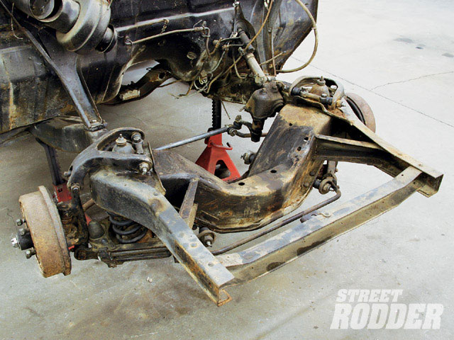 1949 1951 Ford Steering And Motor Mounts Hot Rod Network
