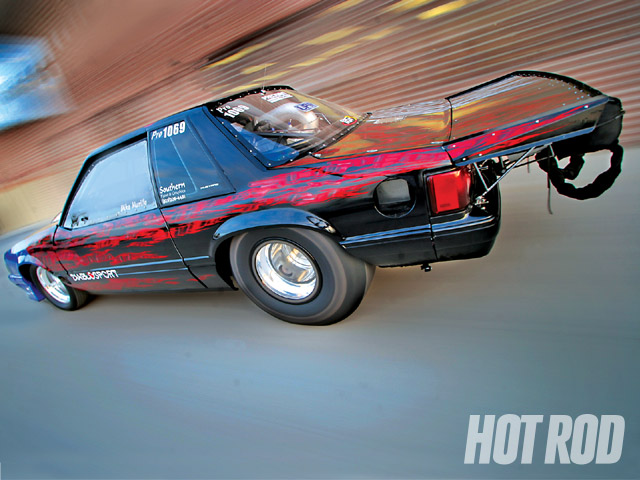 1993 Ford Mustang LX - Mike Murillo's 2,900HP Outlaw 10 5 Drag Car