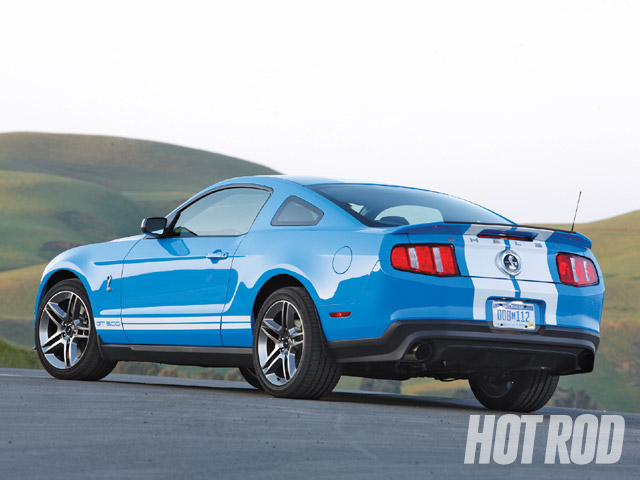 2010 shelby gt500 we drive the new 540 hp ford mustang hot rod network. Black Bedroom Furniture Sets. Home Design Ideas
