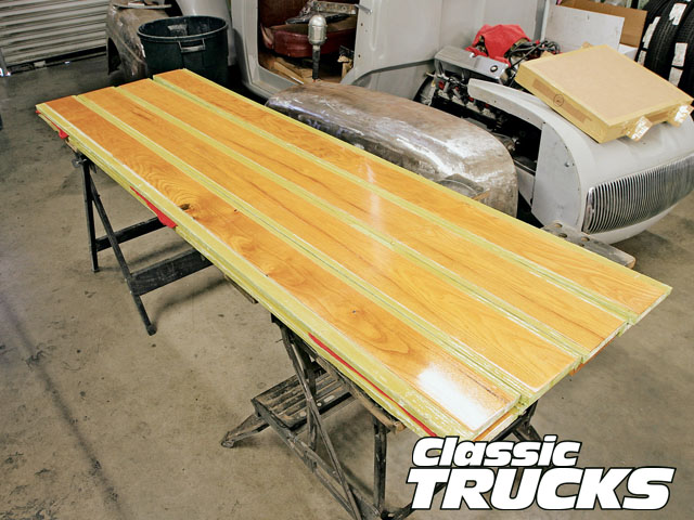 Ford F 1 Wood Truck Bed Kit Install Hot Rod Network
