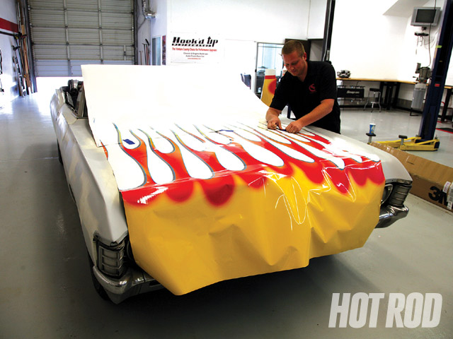 Chevy Muscle Cars >> Custom Vinyl Wrap - Wrapping Up Our '67 Impala Convertible ...