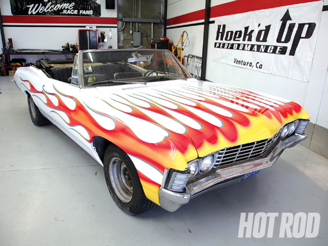 Custom Vinyl Wrap - Wrapping Up Our '67 Impala Convertible