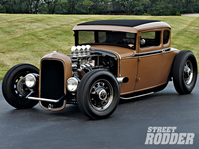 1930 ford highboy coupe downtown brown hot rod network. Black Bedroom Furniture Sets. Home Design Ideas