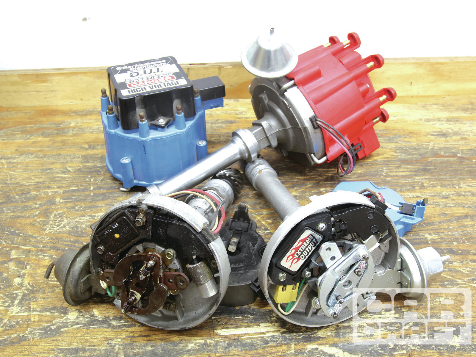 Rather than spend $150 or more on a trick aftermarket distributor, you can  build your