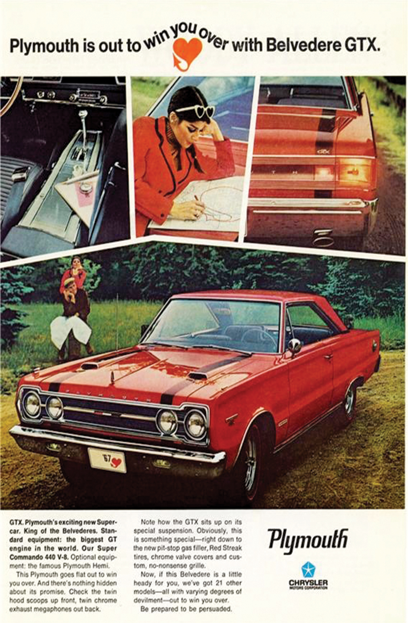 1967 Plymouth Belvedere Gtx Out To Win You Over Hot