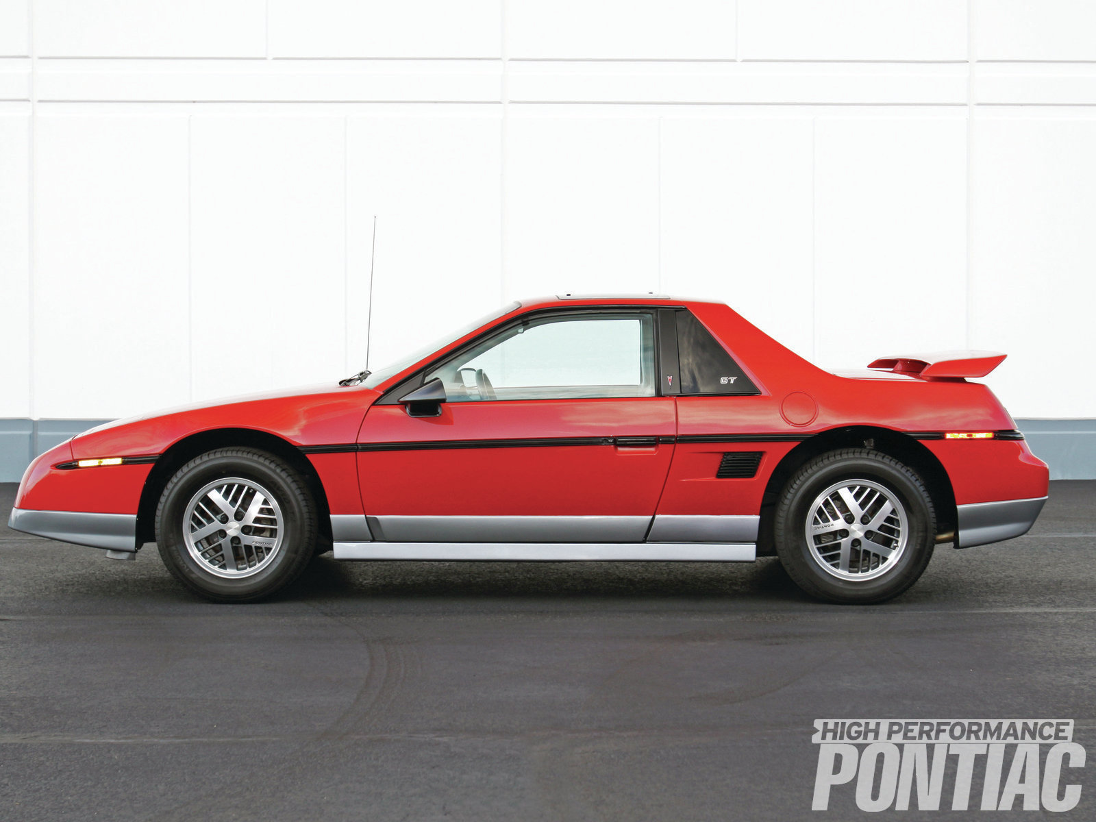 1985 Pontiac Fiero Gt Back From Obscurity High Performance 84 Fuse Box The 85 Borrowed Its Exterior Package Limited Edition Indy Pace