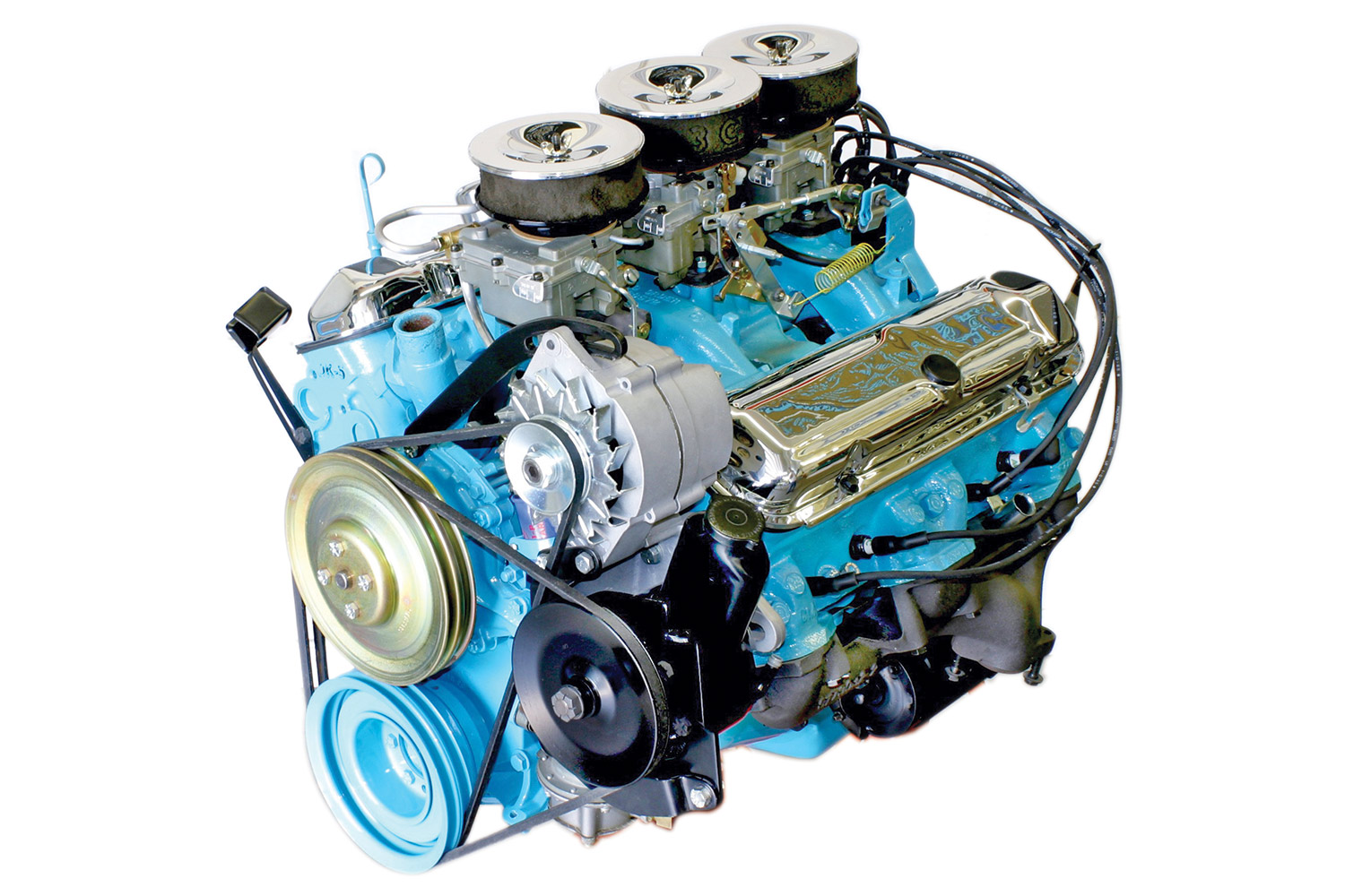 the legendary tri-power 389 engine stands tall among all muscle-car engines