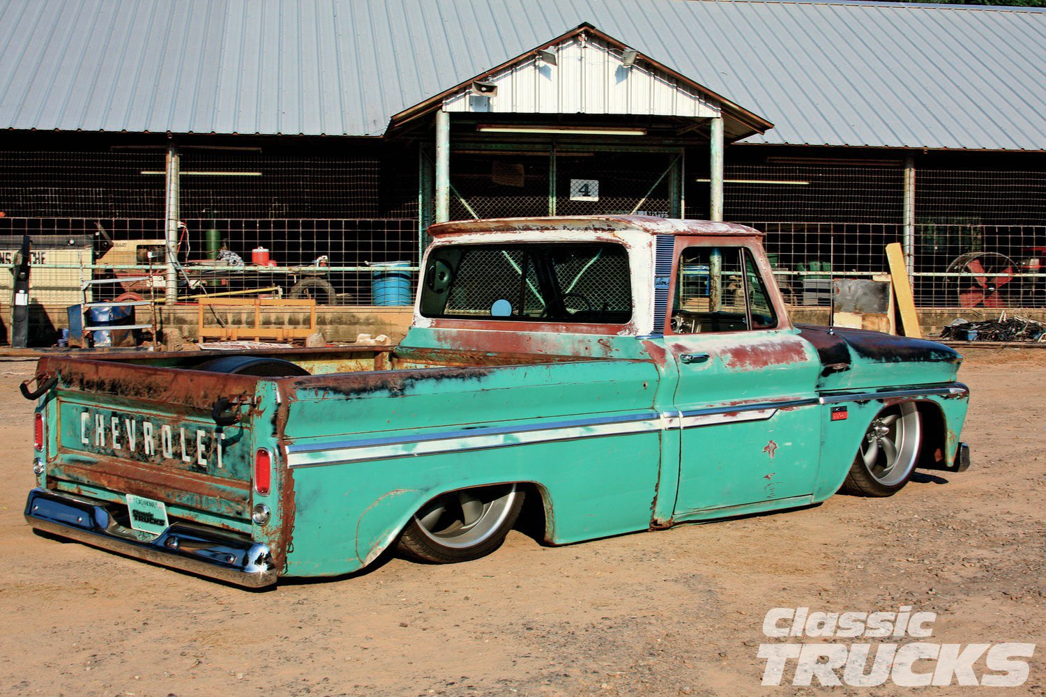 1966 Chevrolet C10 Too Tuff To Buff Hot Rod Network