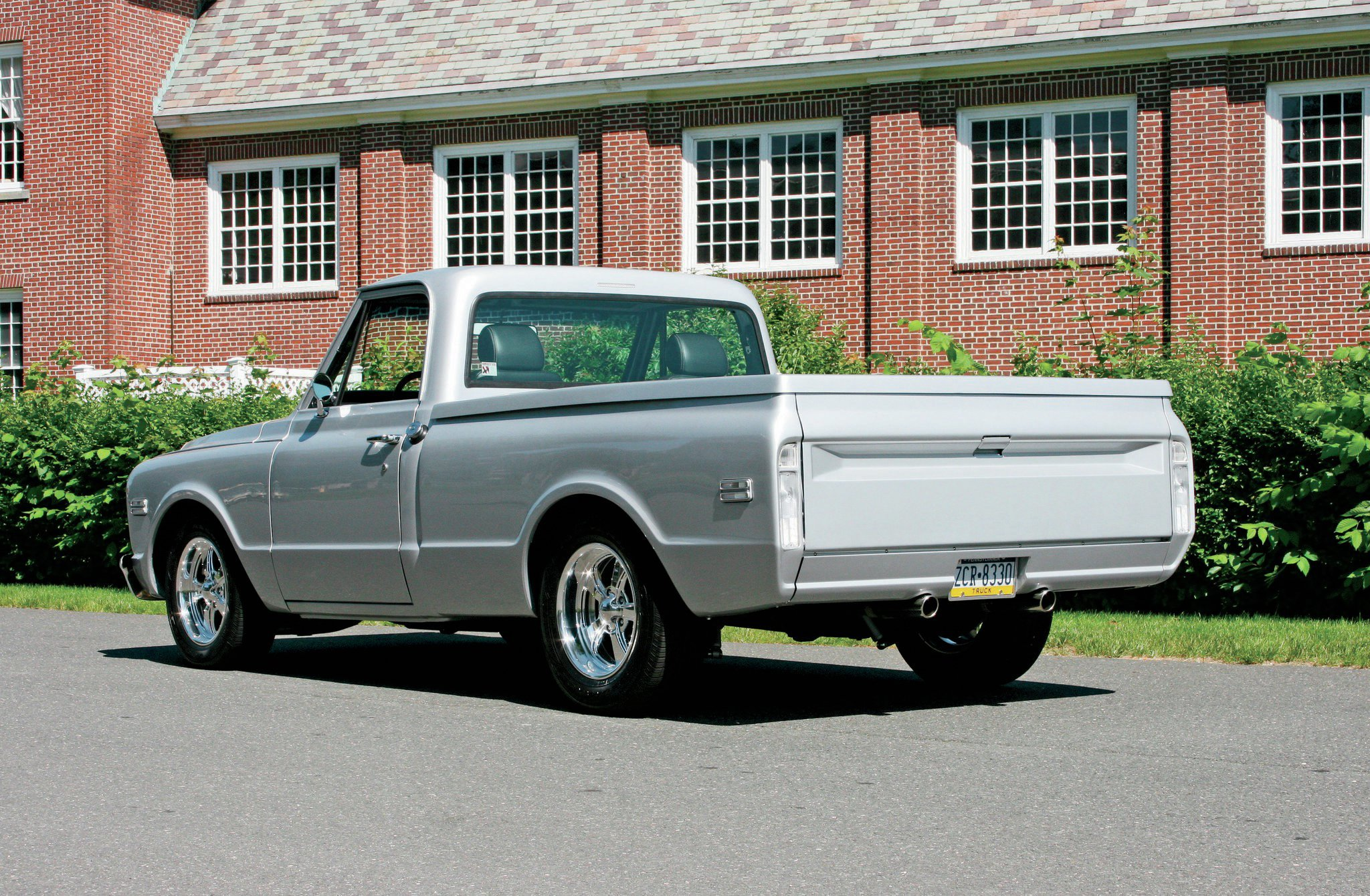 1967 Chevy C10 - Sanitary In Silver - Hot Rod Network