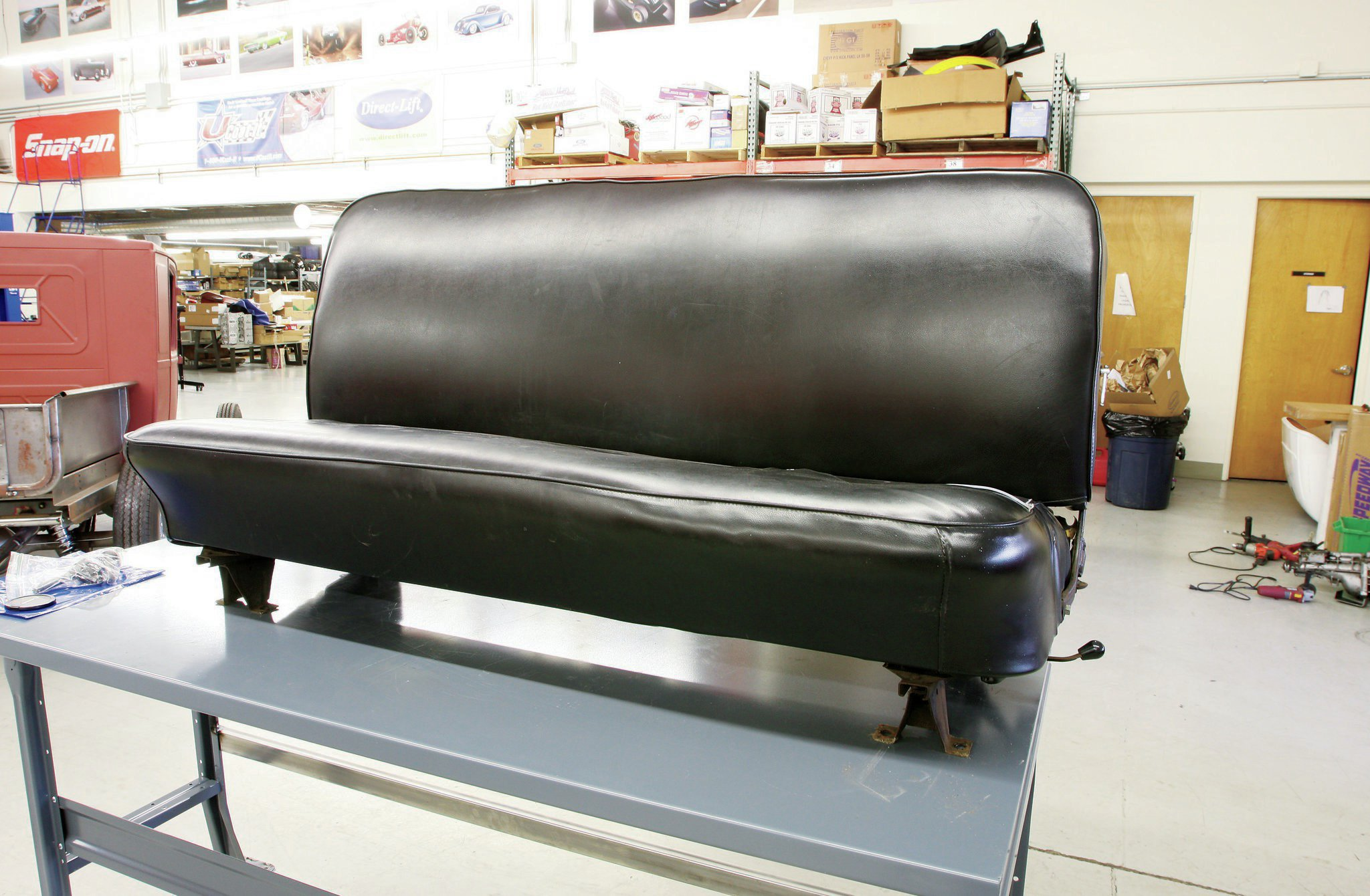 Superb Rebuilding A Stock Bench Seat Part 1 Hot Rod Network Uwap Interior Chair Design Uwaporg