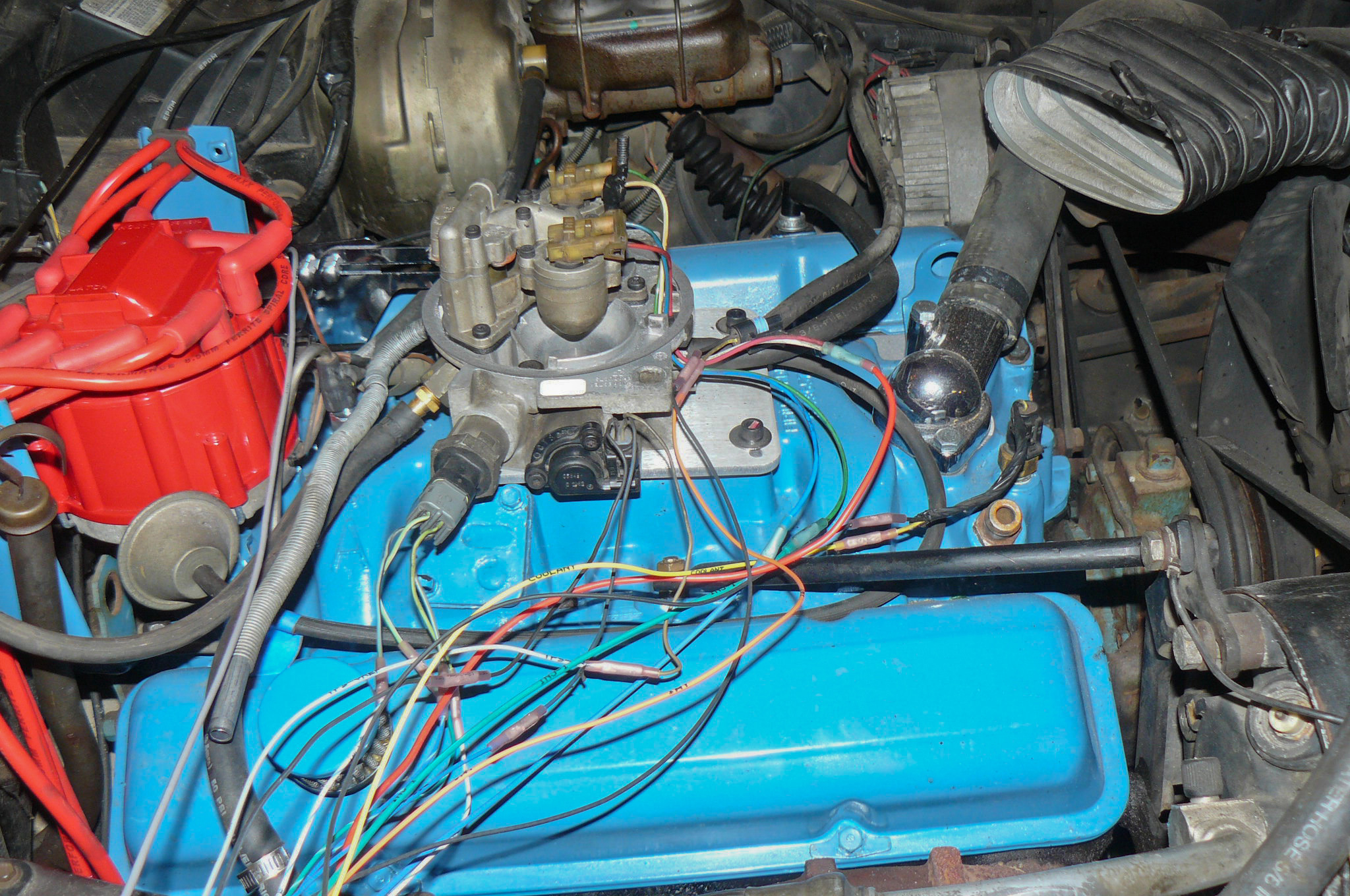 A Homemade Tbi Conversion For 904 Hot Rod Network Gm Idle Air Control Valve Wiring