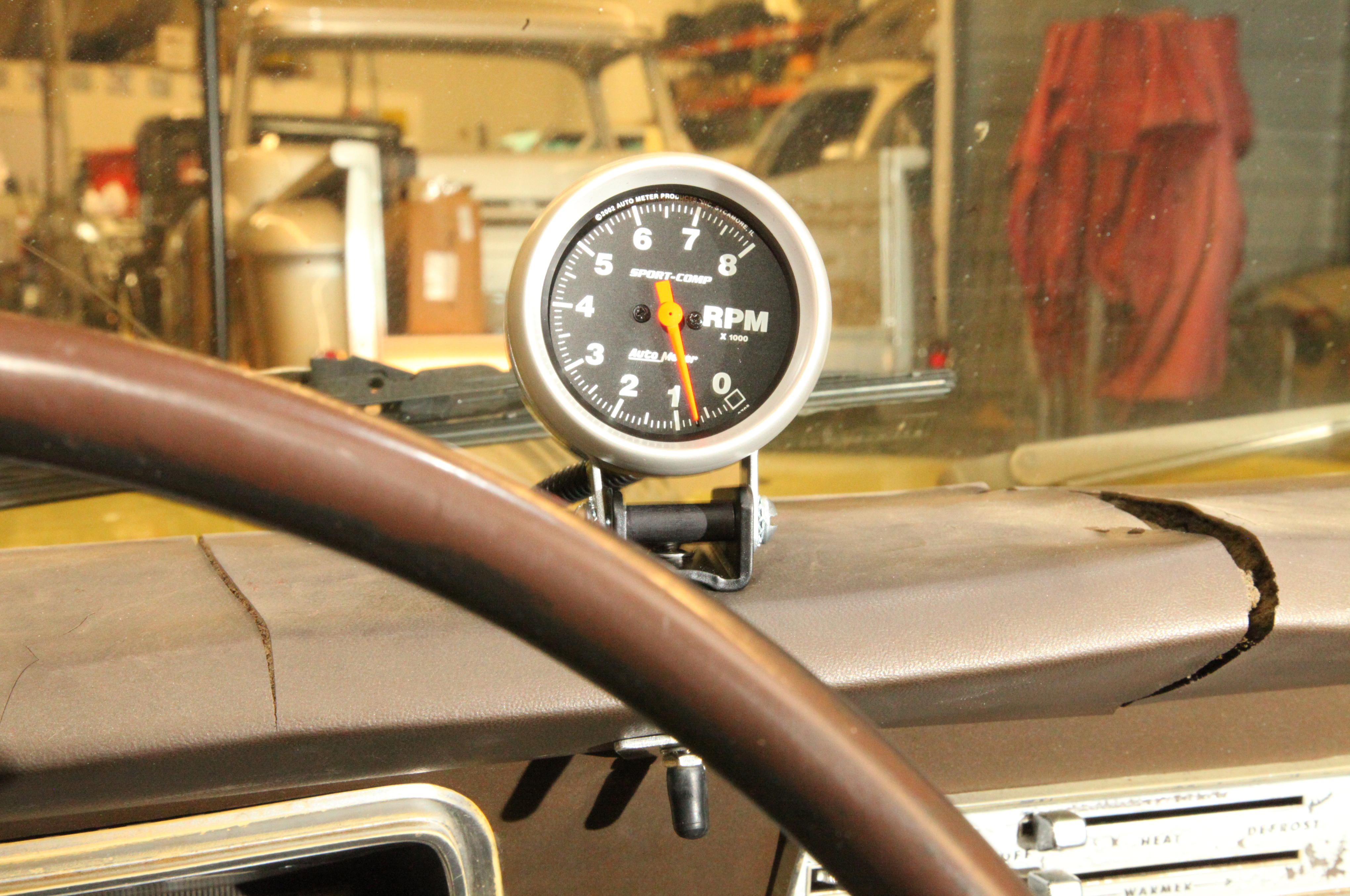 Auto Meter Tachometer - Tach It On - Hot Rod Network on