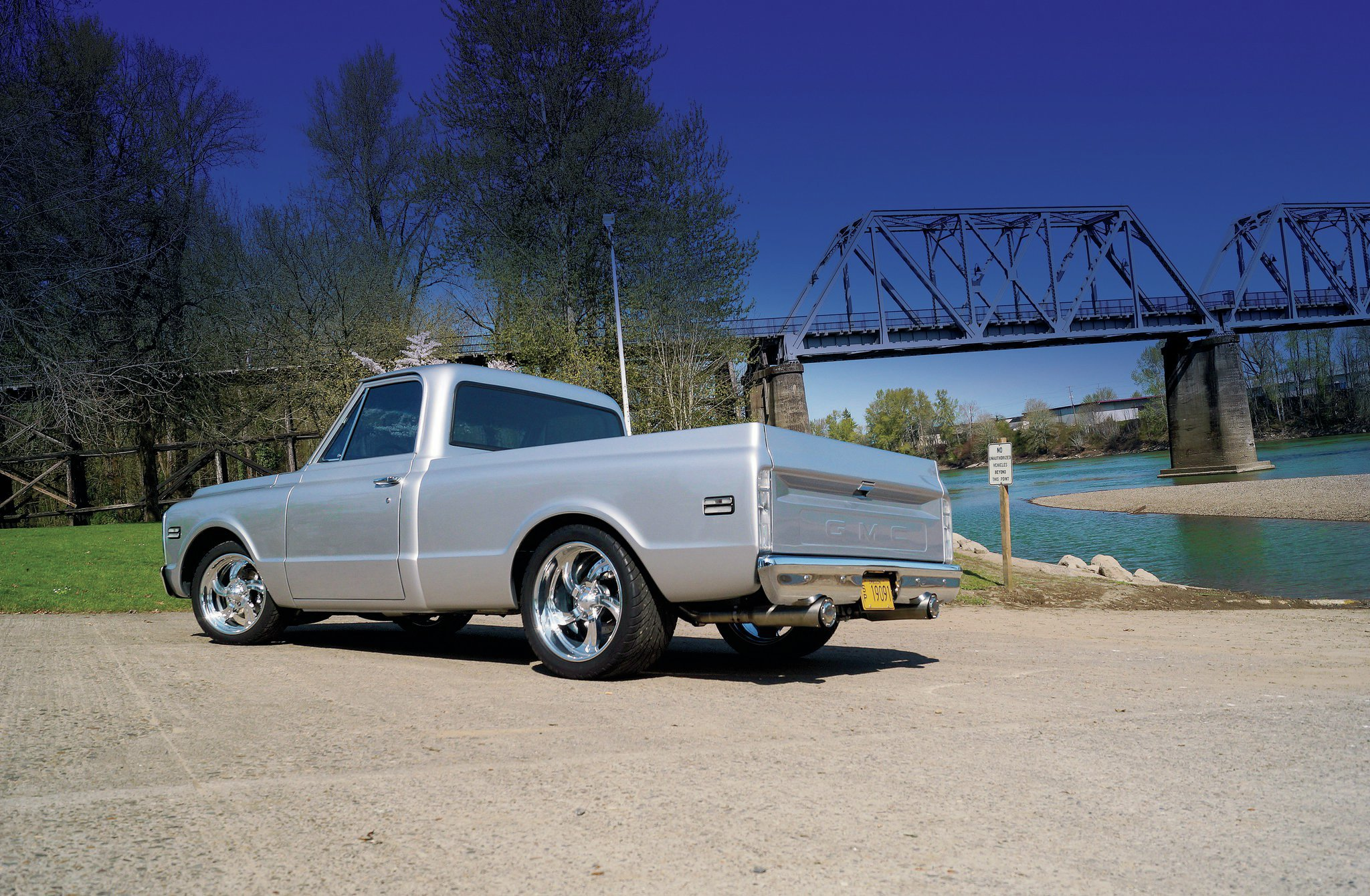 1970 Gmc Truck The Silver Medal Hot Rod Network