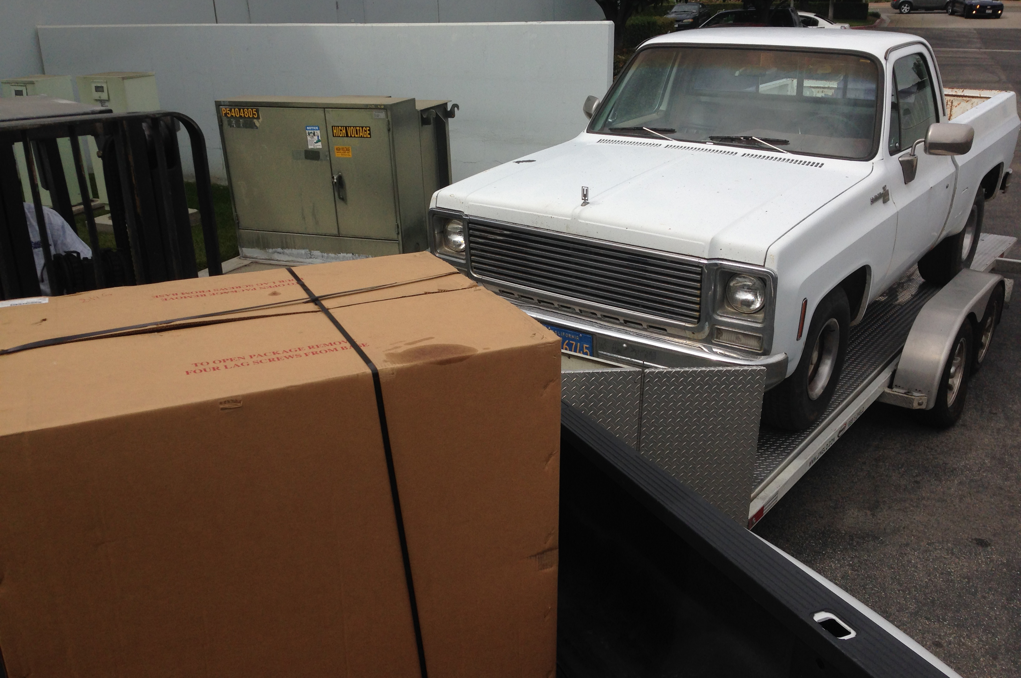 1980 chevrolet c10 bringing home a new hauler hot rod network 1980 Chevy C10 lt1 powered 1980 c10