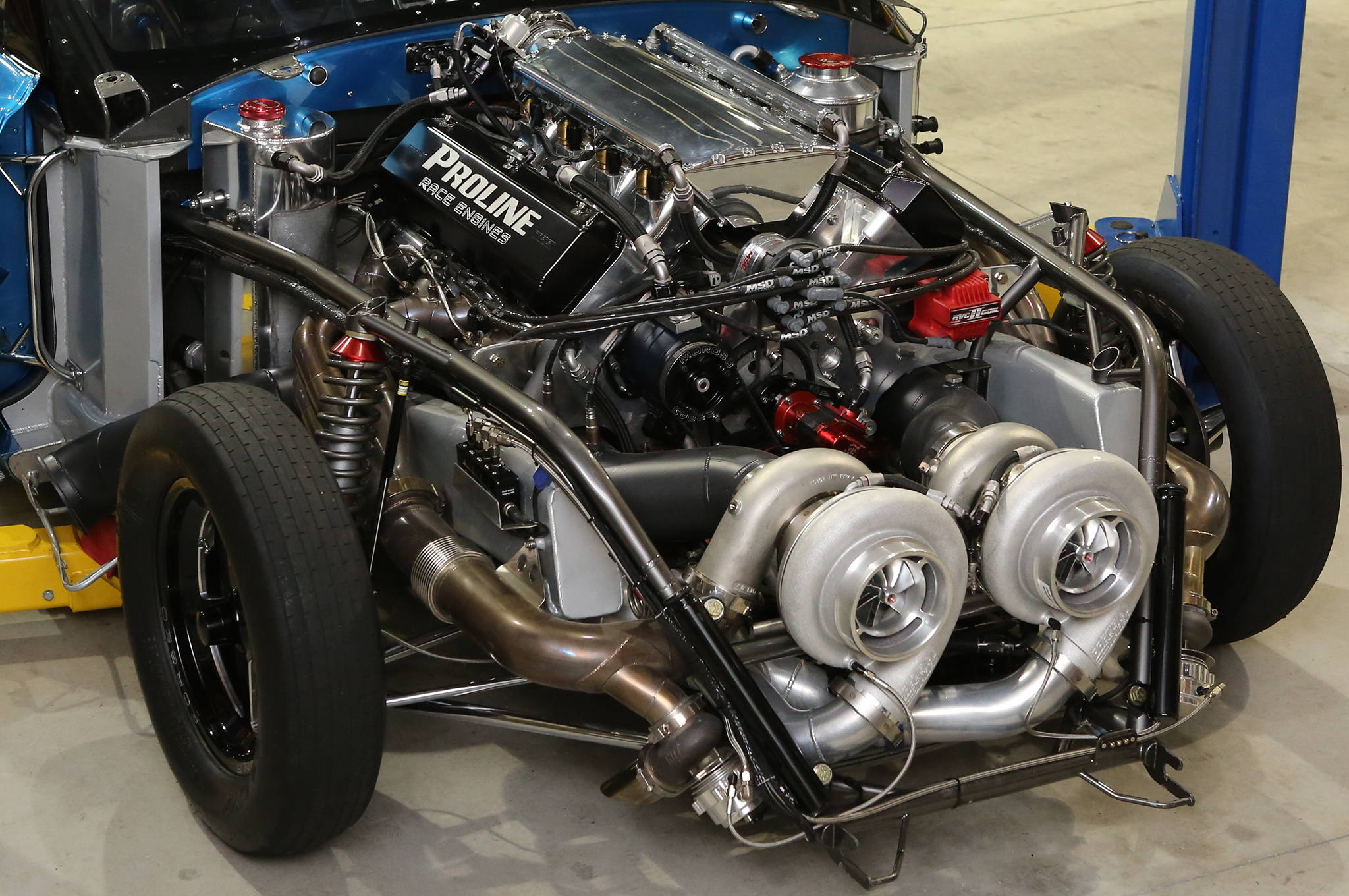 Rodney Massengale's 4,000HP, 676CI, Twin-Turbo Pro Line Racing Big