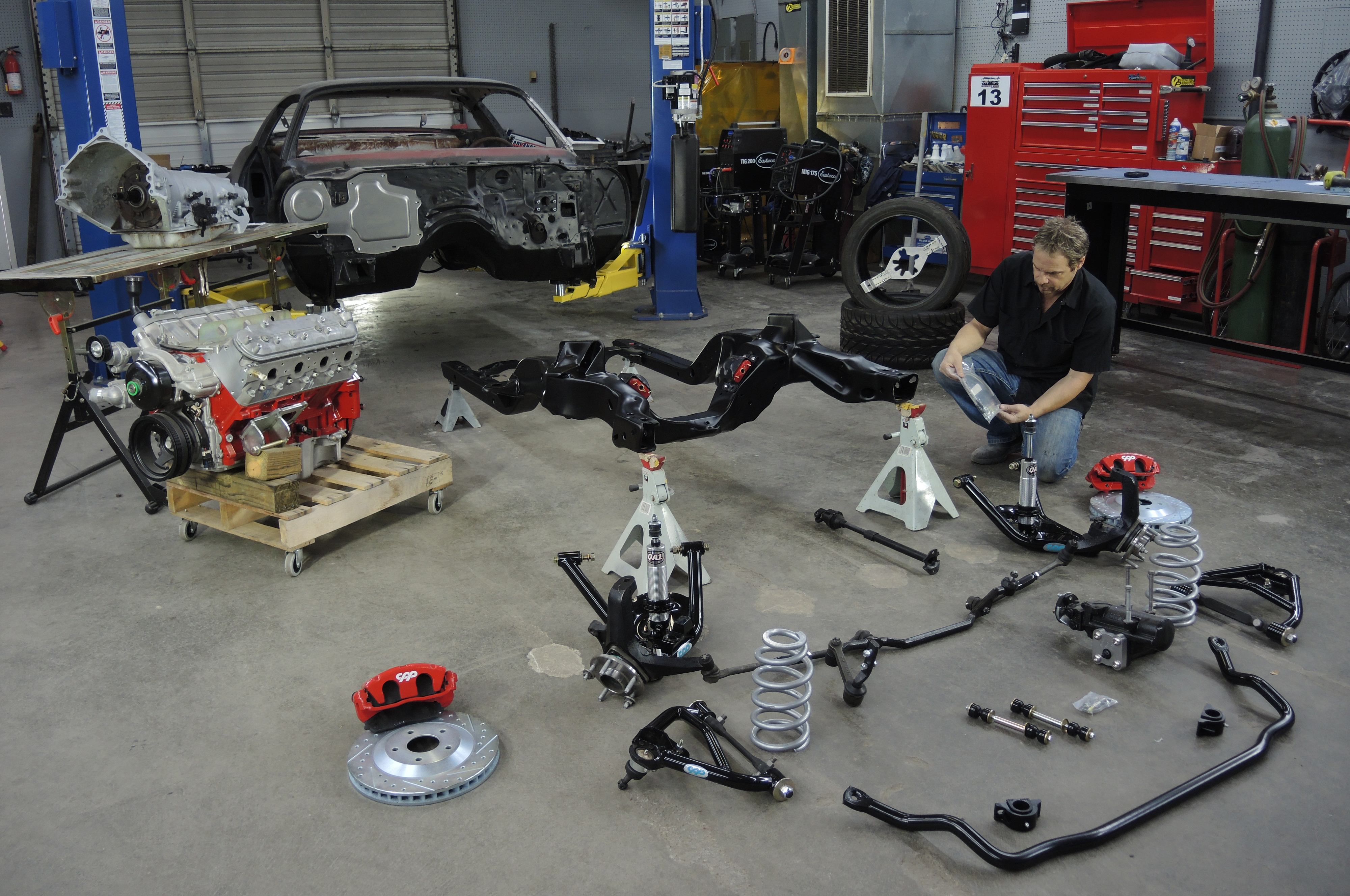 How to Rebuild the Front Suspension of a Second-Gen Camaro