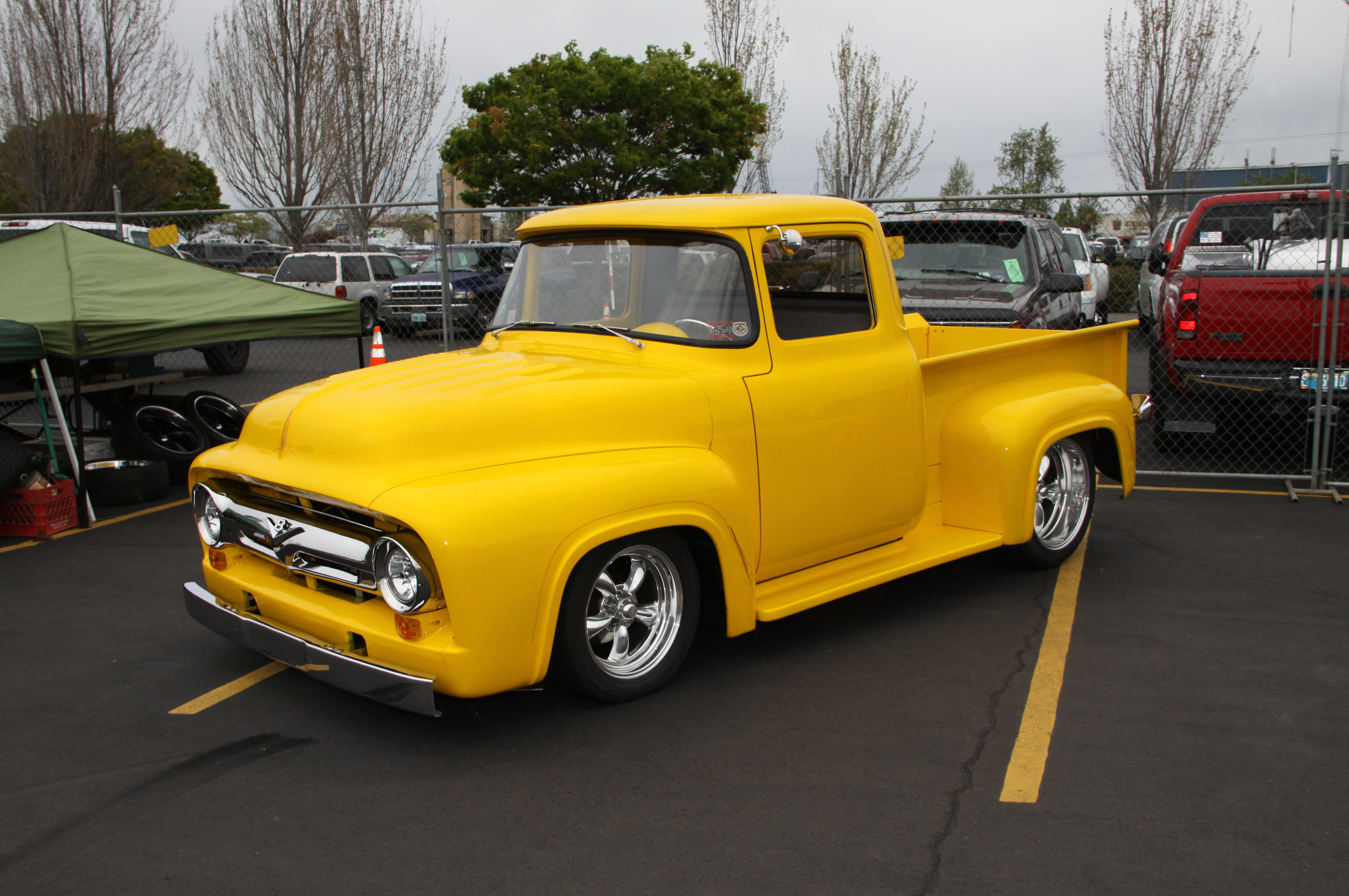 Classic trucks and parts come to portland oregon