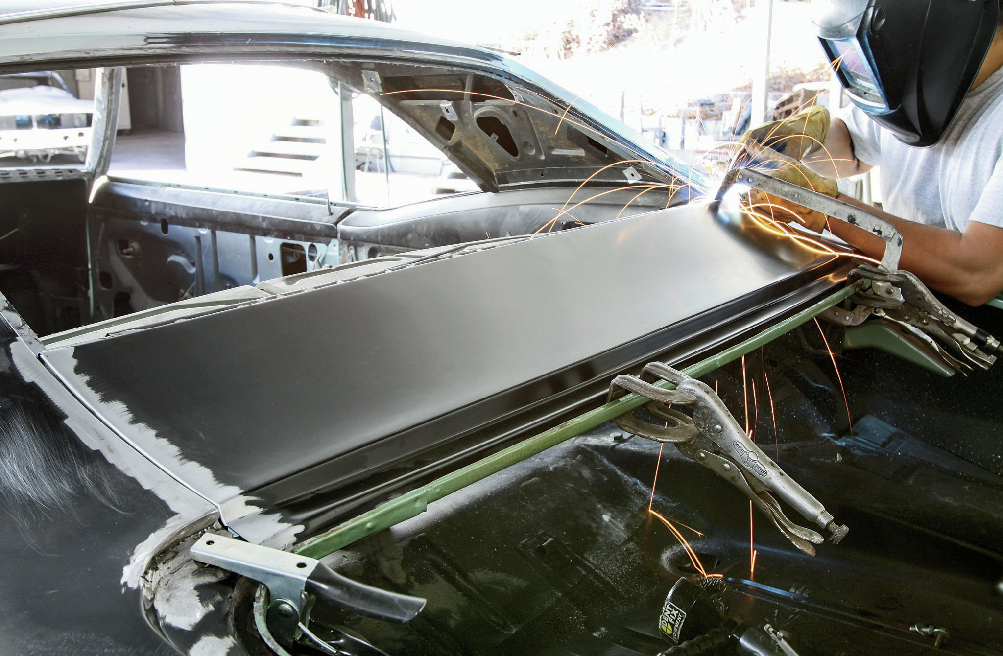 How To Install A New Quarter Panel On A 1967 Camaro Hot