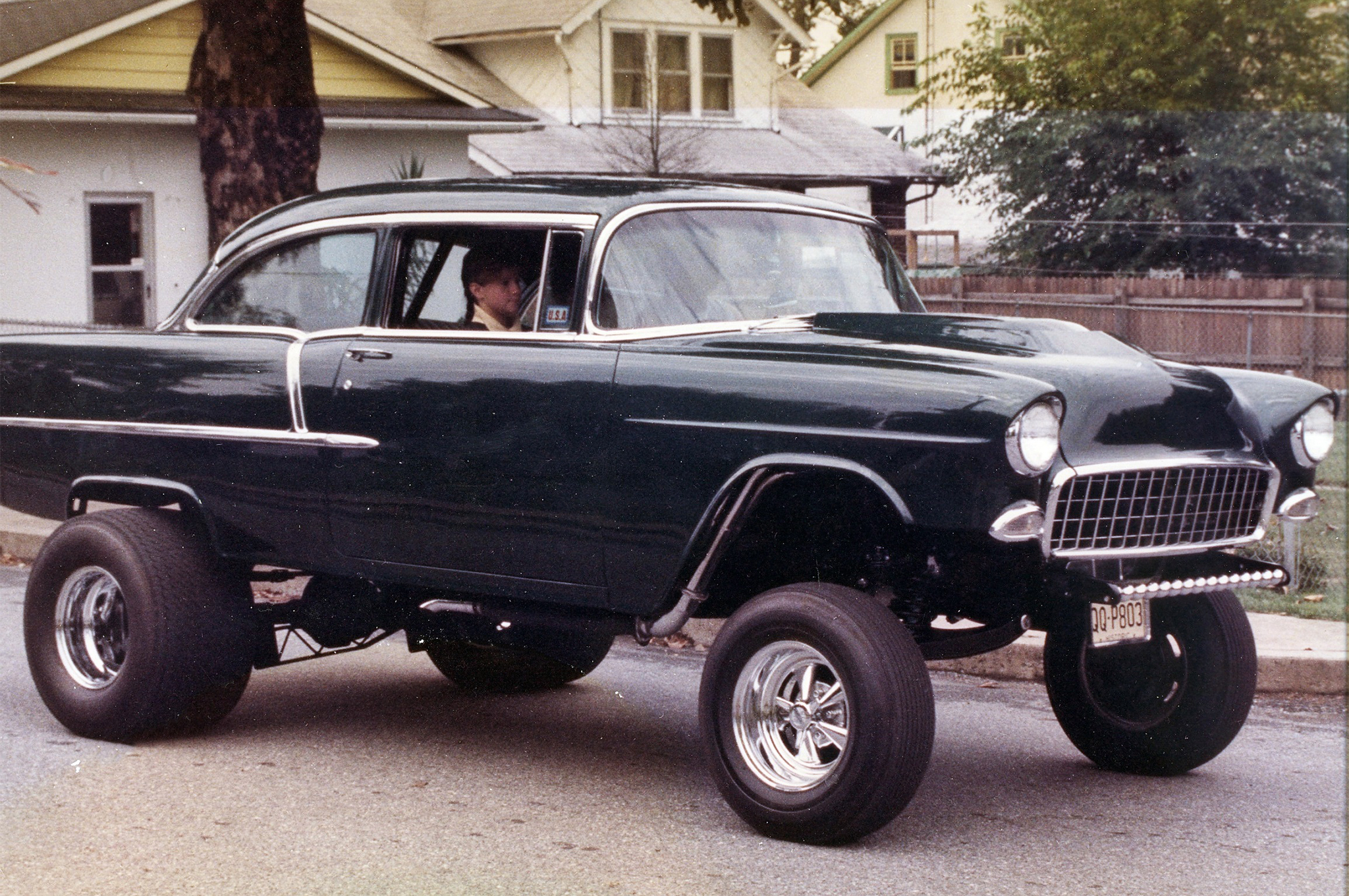 1955 Chevy Gasser Still On The Jersey Streets After 40 Years Hot