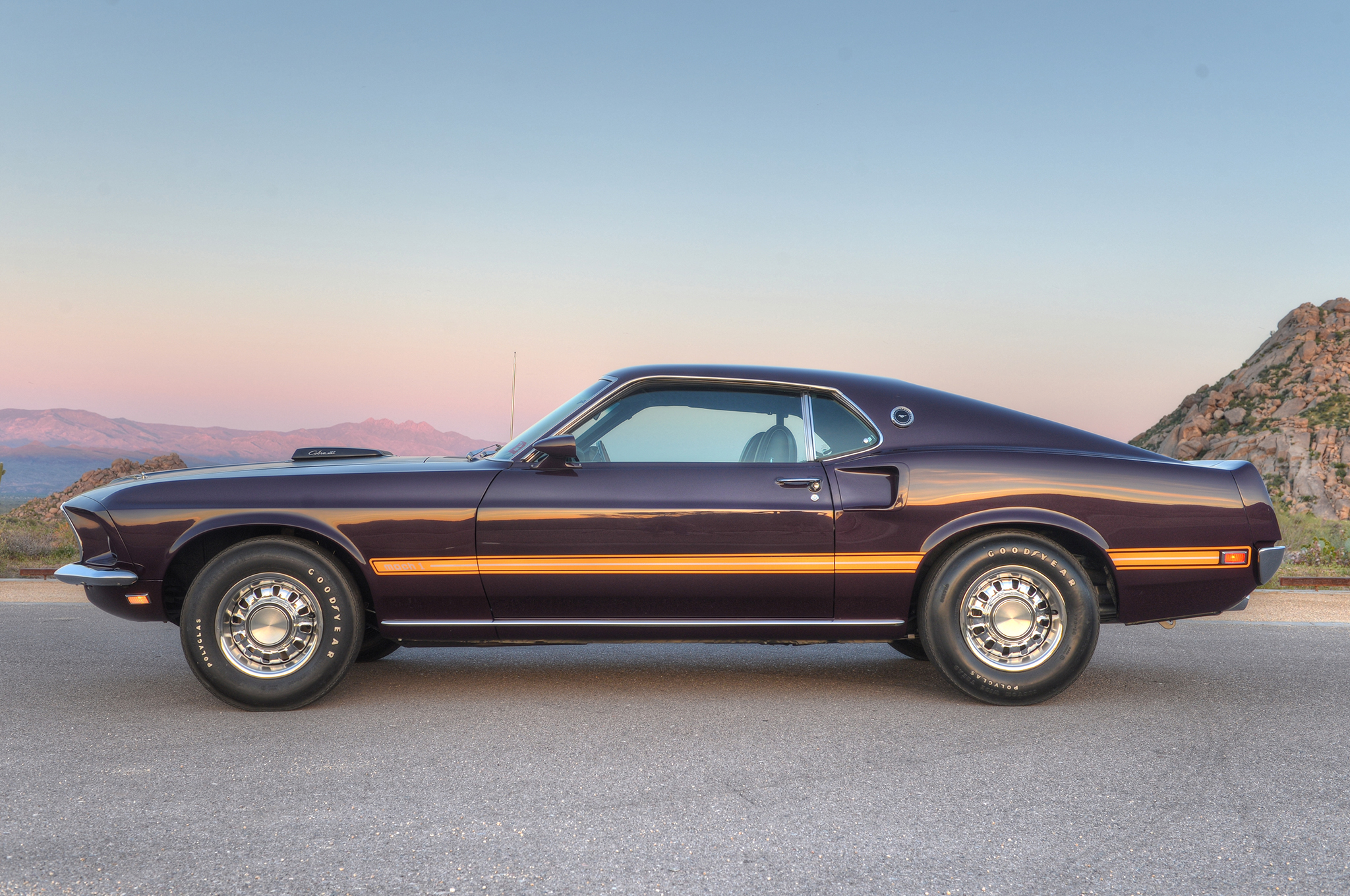 The marti report revealed special order paint but did not reveal the color of that special order paint a new car buyer in 1969 could specify any ford