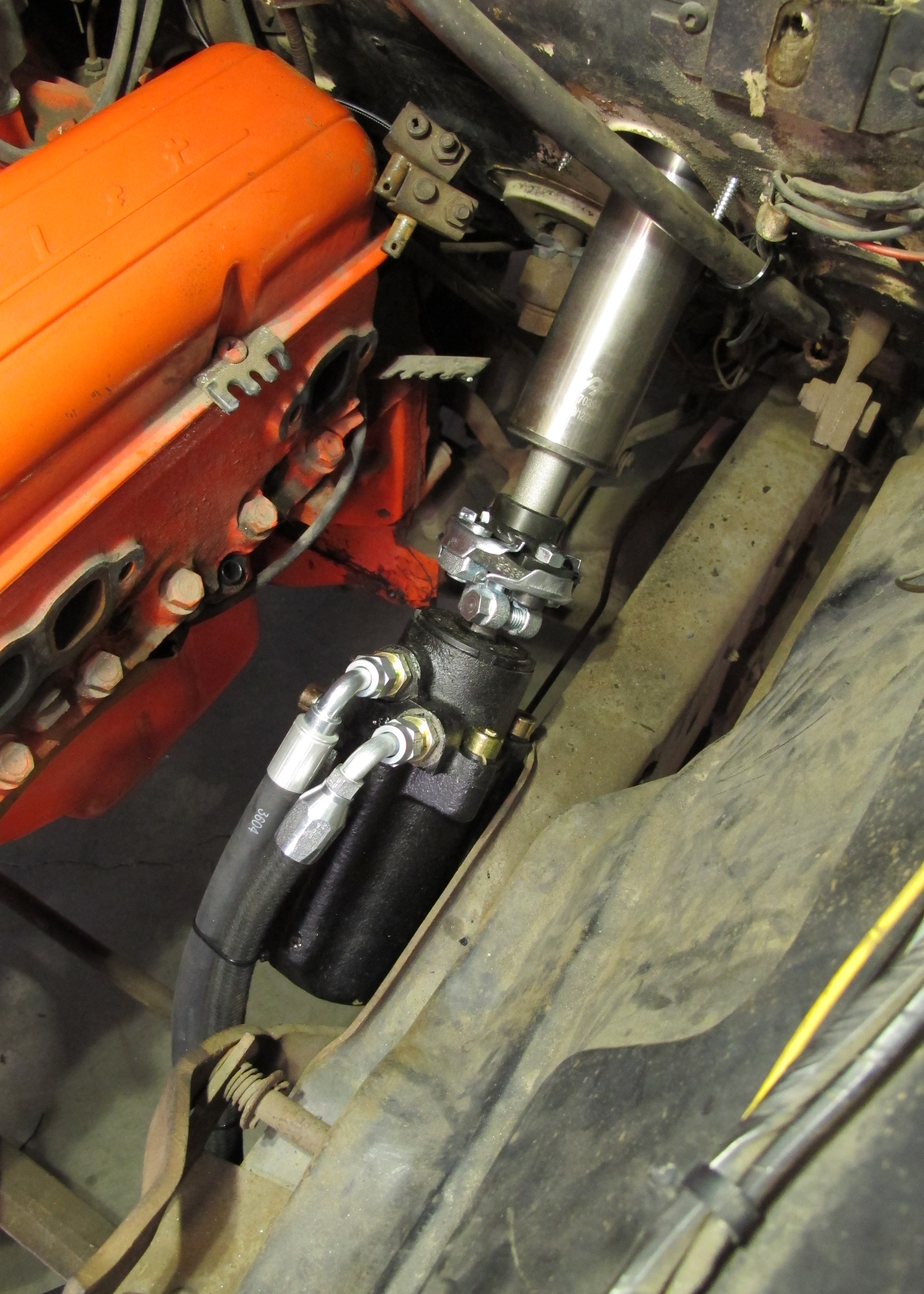 Power Steering for Straight Axles - Hot Rod Network