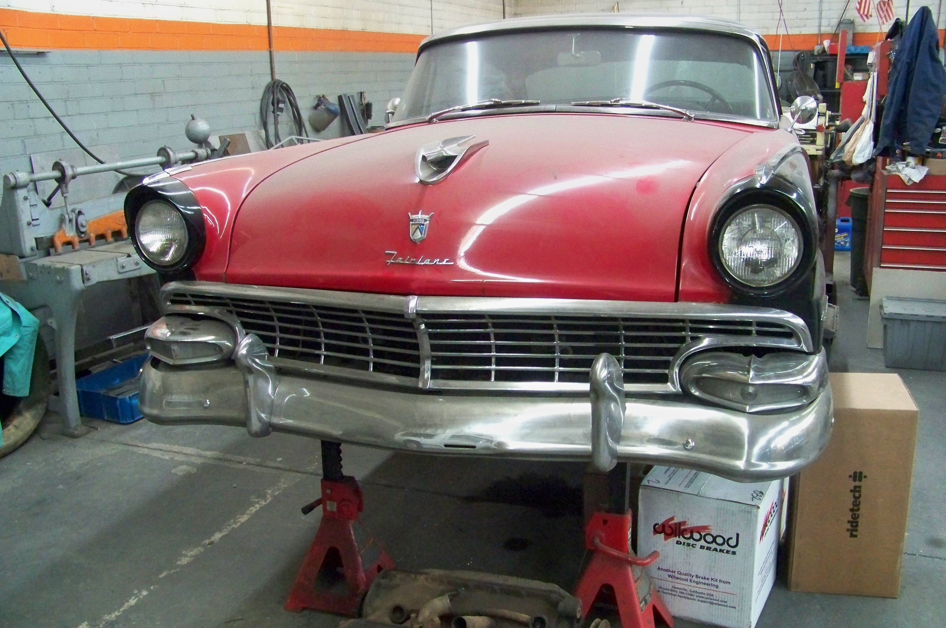 Custom Bumpers for Your 1955 - 1956 Ford Crown Vic - Hot Rod Network