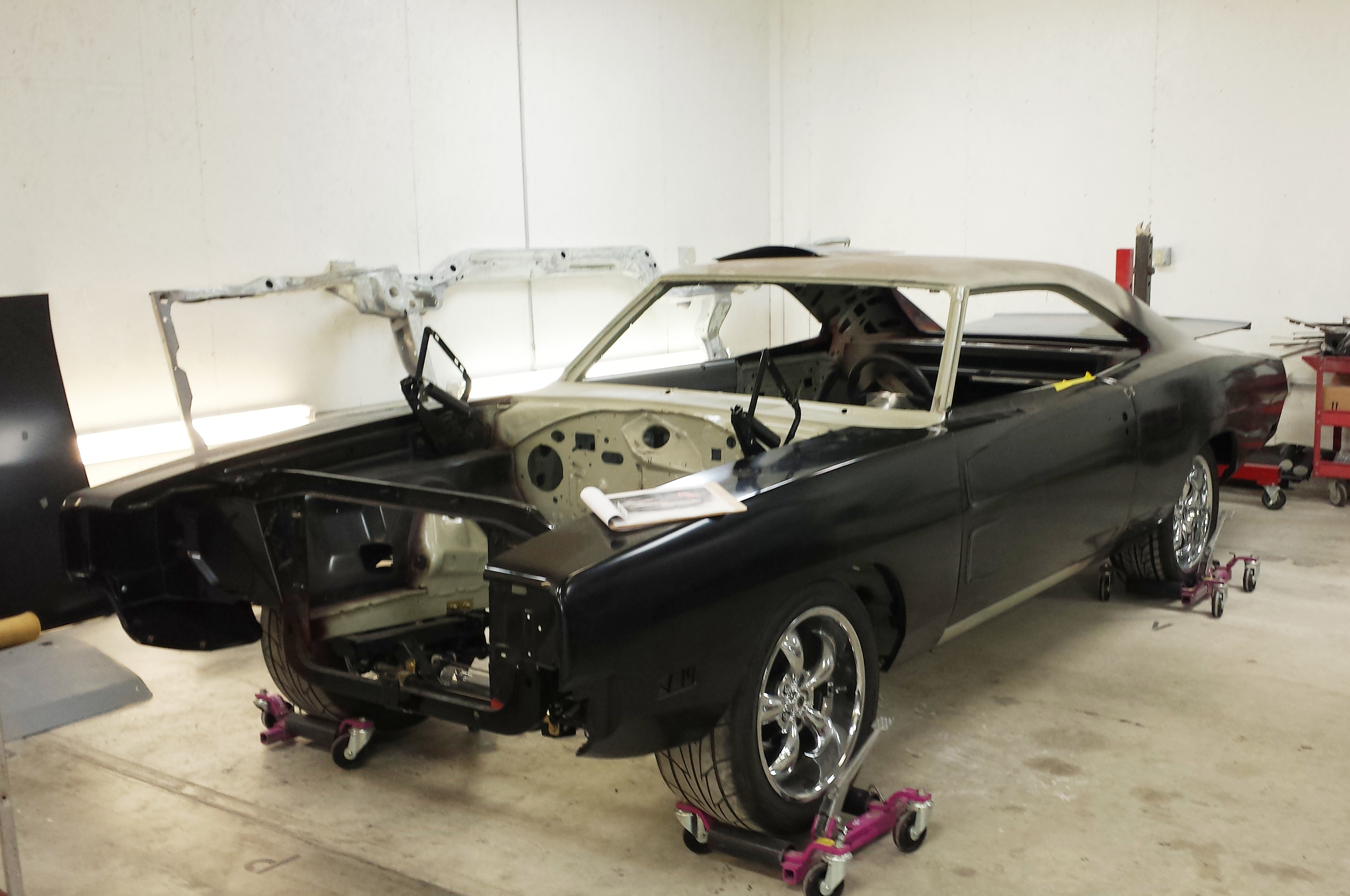 Fit A 6 Speed Into Any Mopar B Body Hot Rod Network