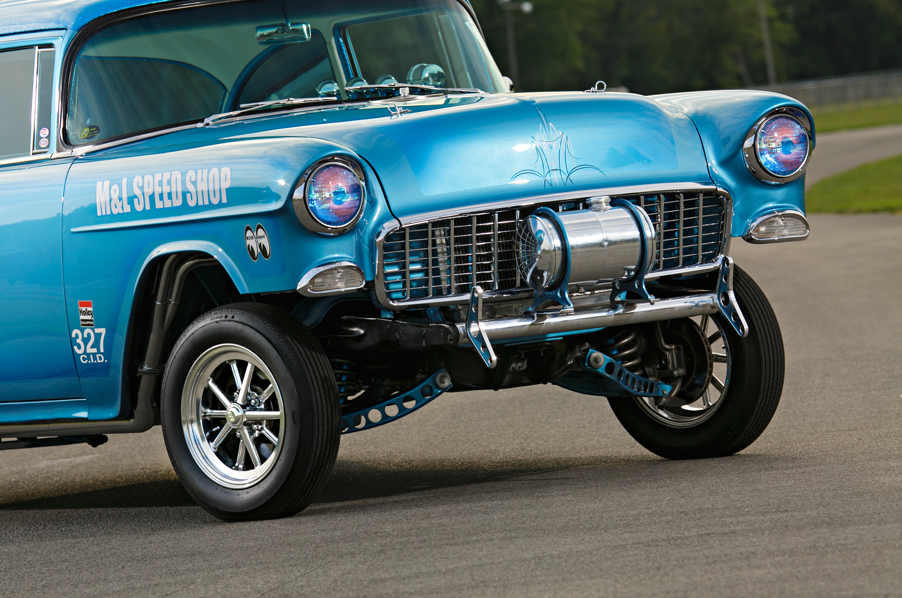 A Street Driven 1955 Chevrolet 210 Gasser Gets A New Identity Hot