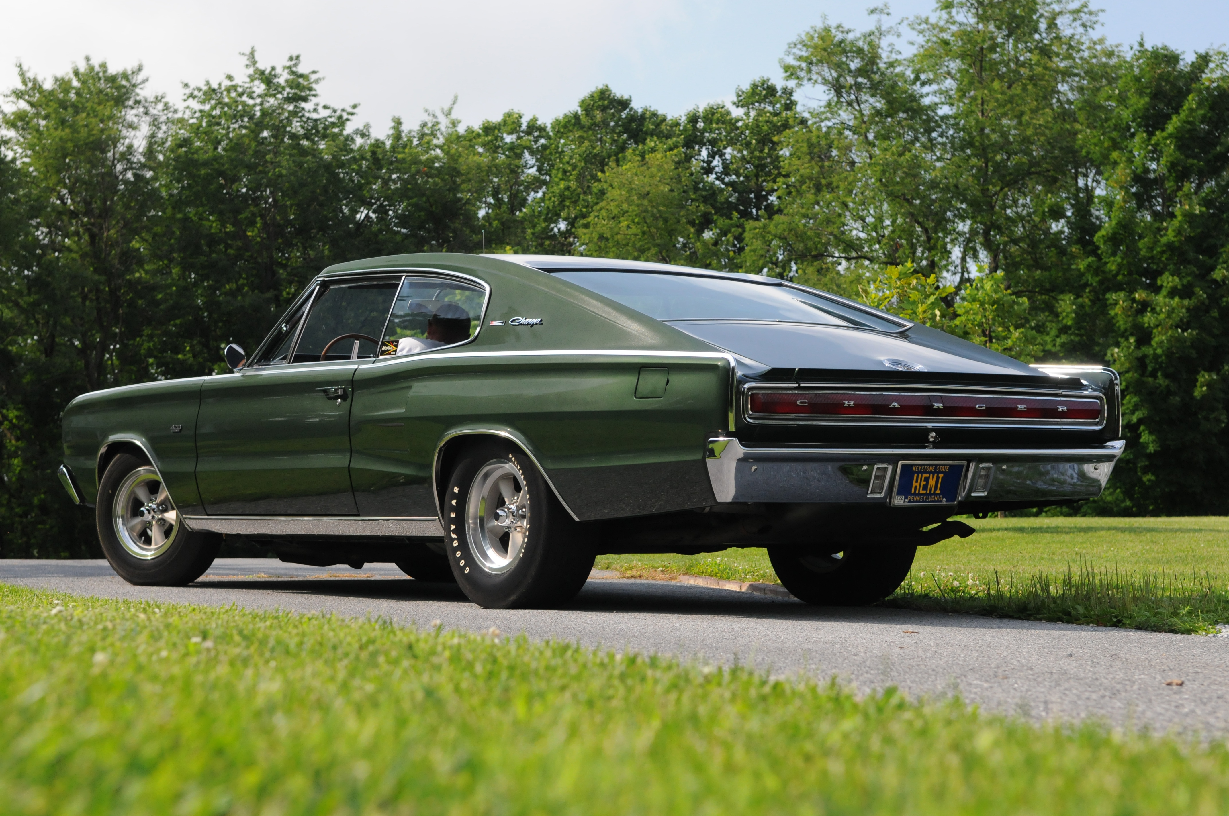 bf8a0f8a6c6 Unrestored 1966 Dodge Charger Hemi Has Unique Super Stock Drag Racing  History - Hot Rod Network