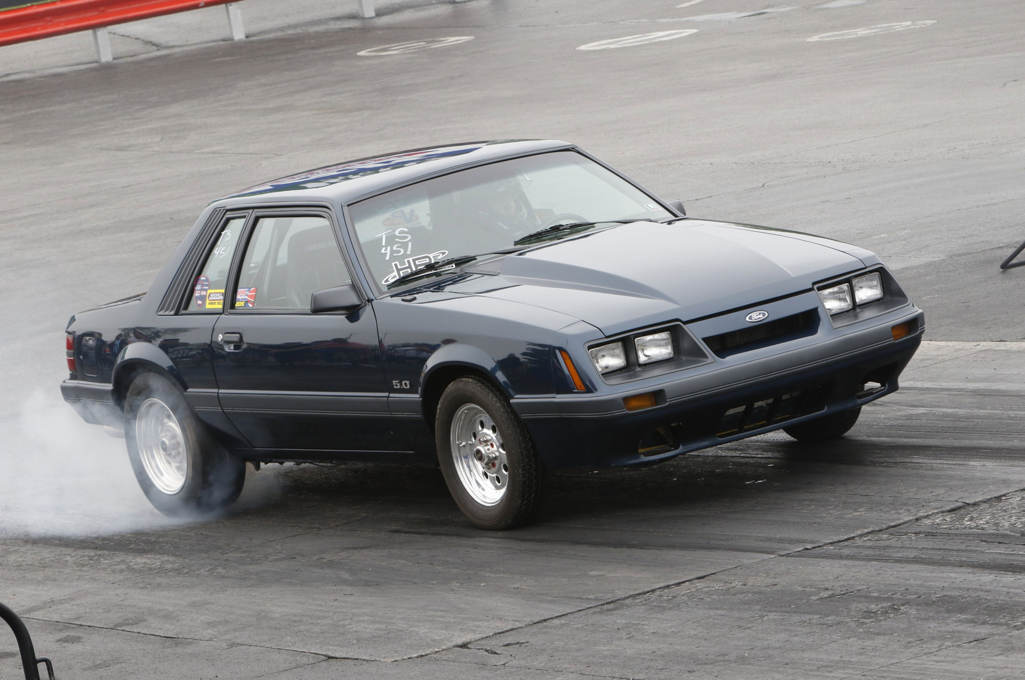 Rent A Mustang >> 1985 Ford Mustang LX: A Blown Police Interceptor Fox-coupe ...