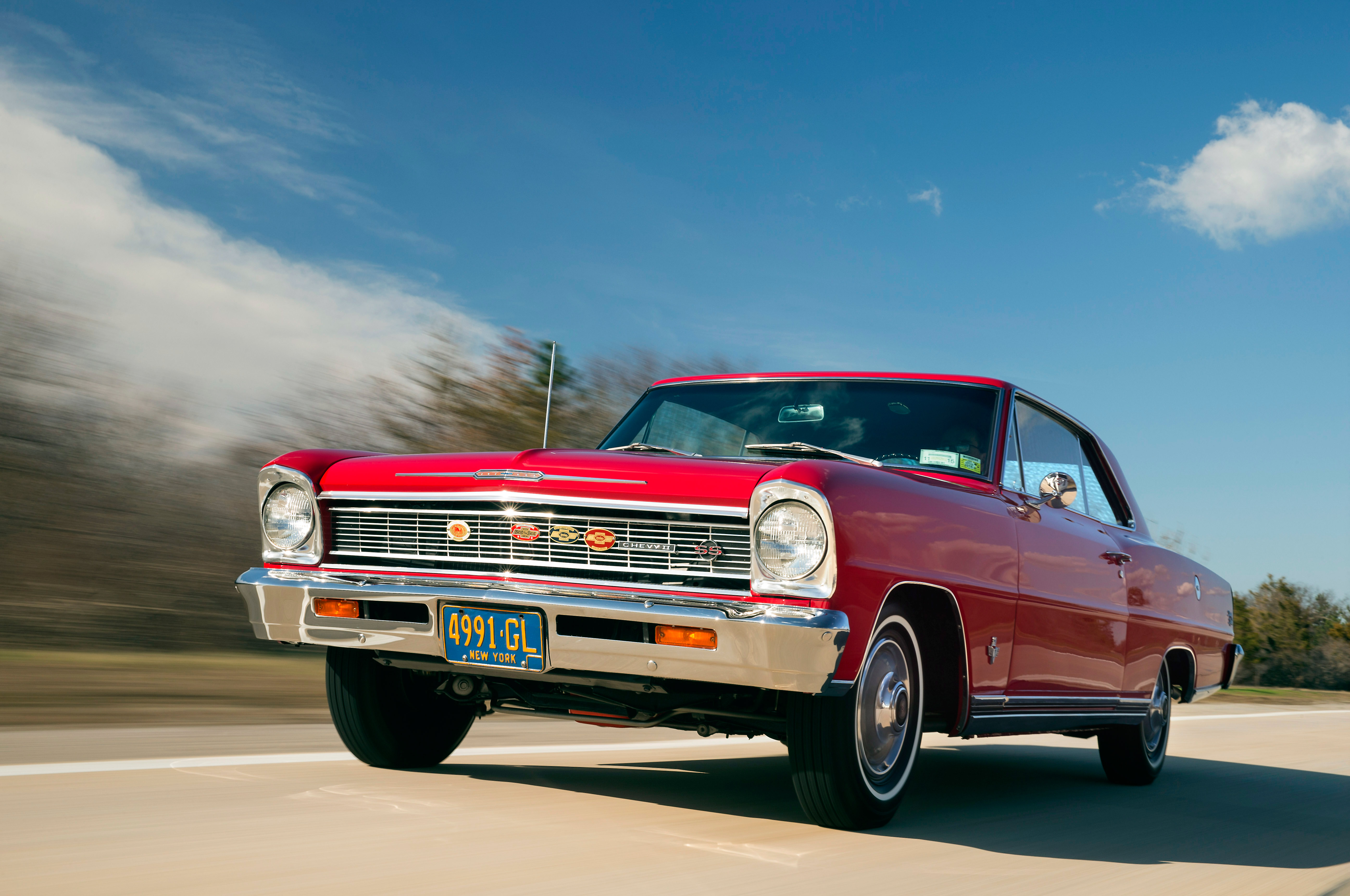 The Original Owner Raced And Now Shows His 1966 Chevrolet