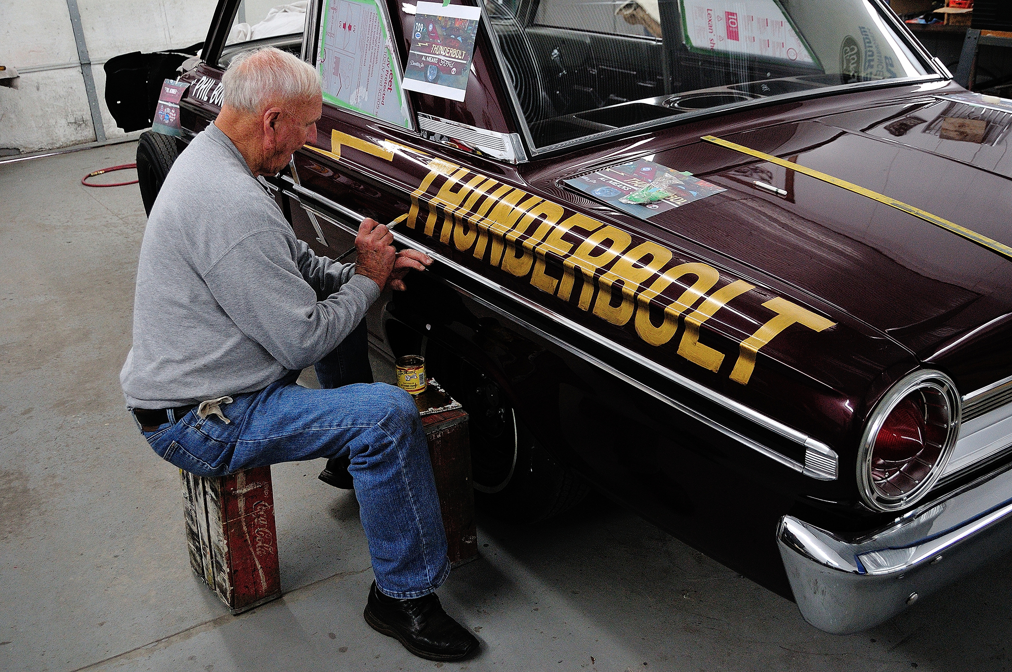 See How This Historic 1964 Ford Thunderbolt is Transformed