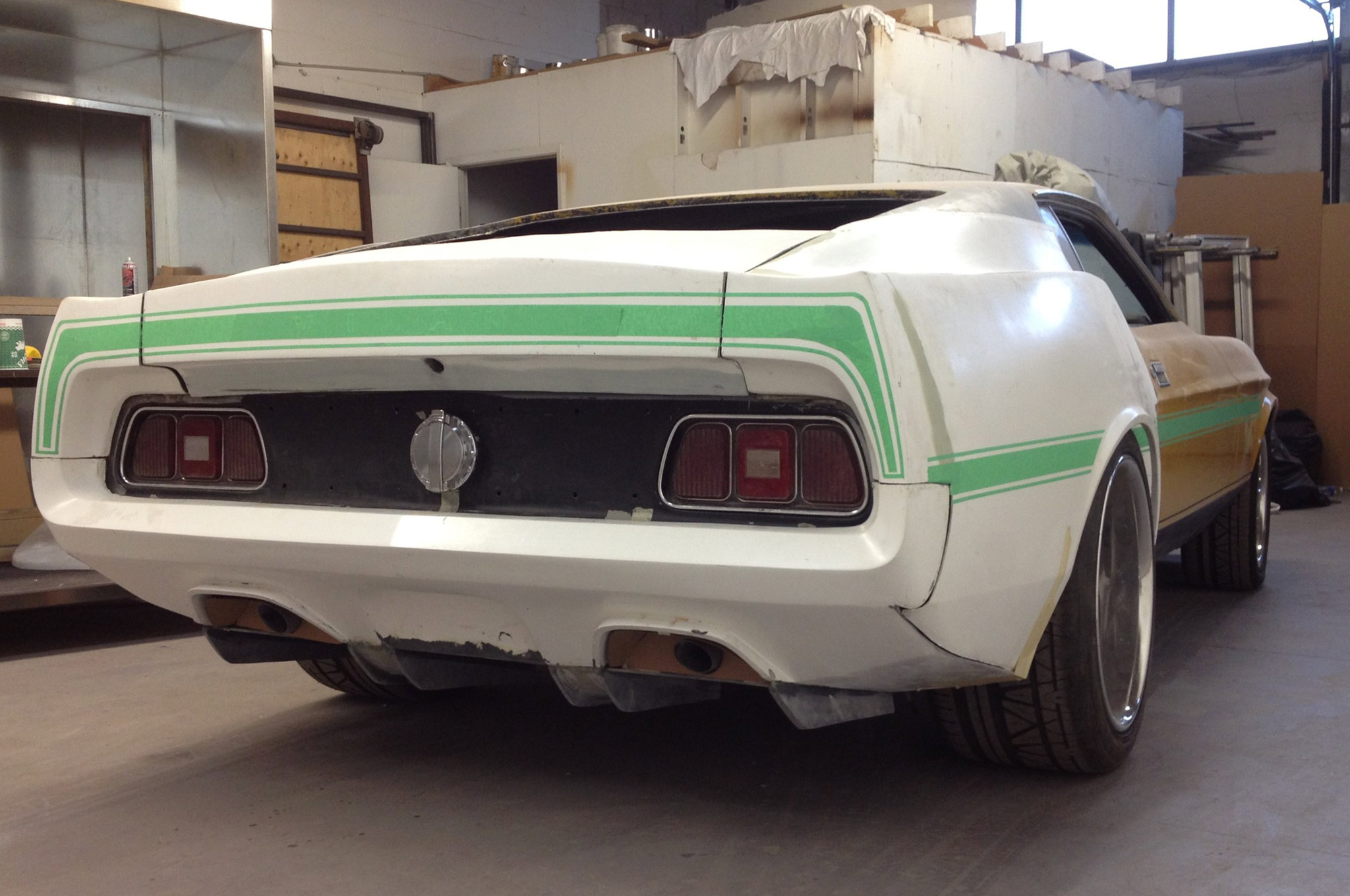 Radical Widebody 1971 Ford Mustang Hot Rod Network