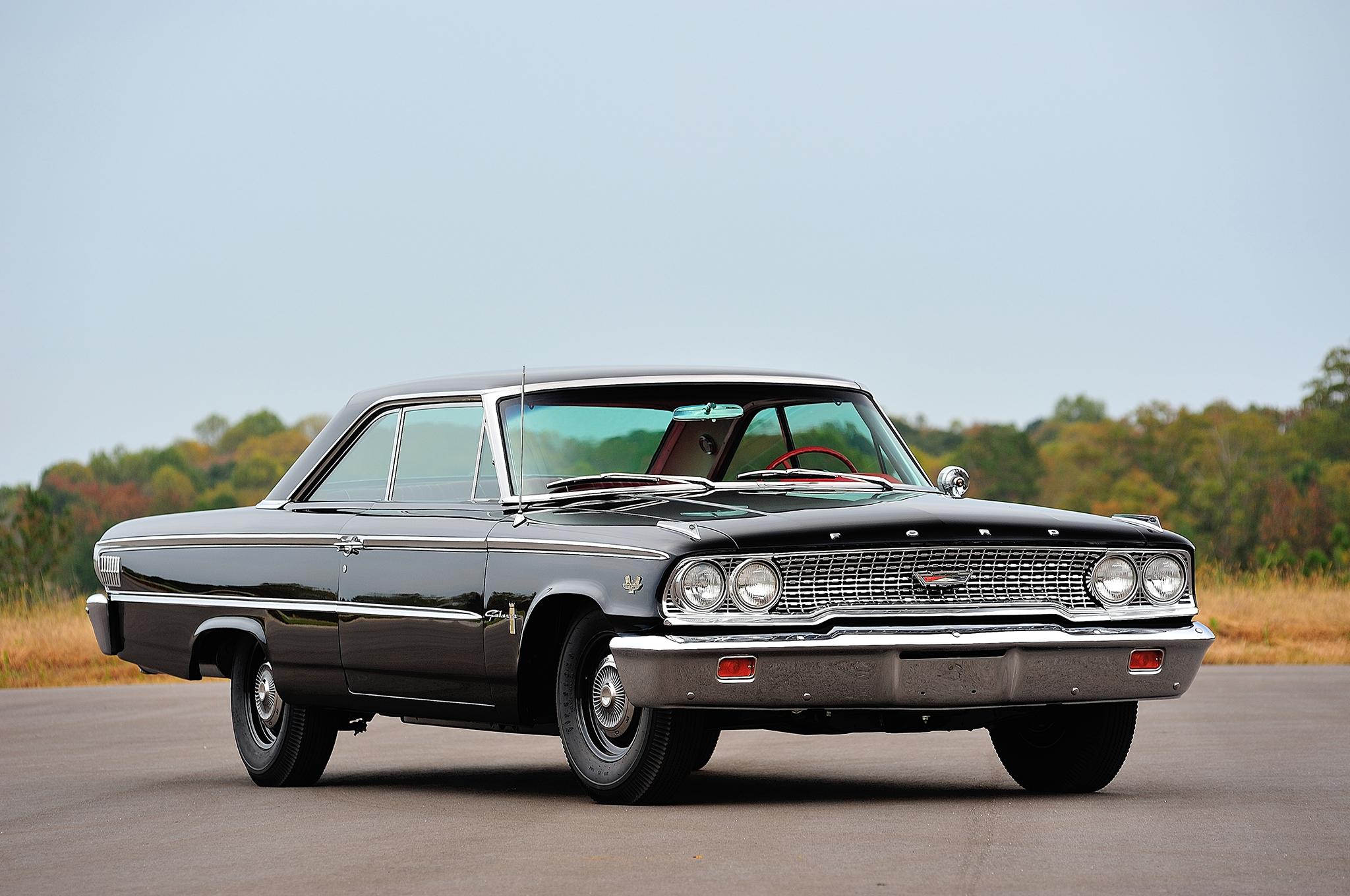 Reliving a Thrill Ride in a 1963 R-Code 427 Ford Galaxie 50