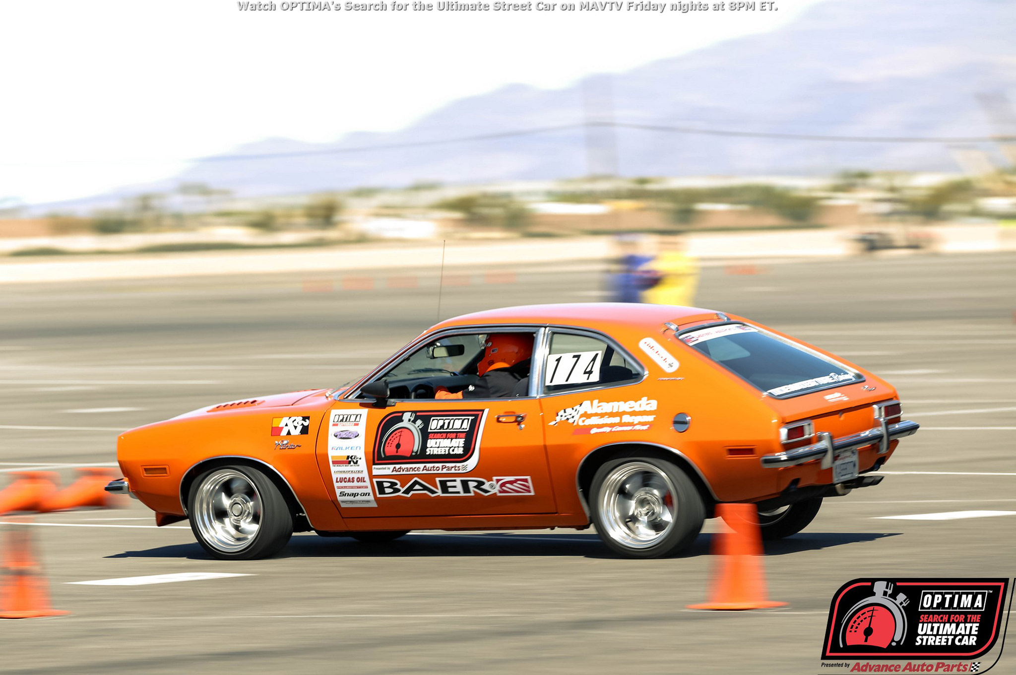 Joe Escobar hasn't run his 1974 Pinto since Las Vegas, but he is still hanging on to 10th place in the GTL points chase.