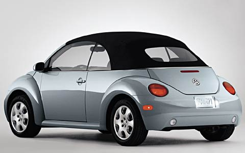 Canada Drives Reviews >> 2003 Volkswagen New Beetle Convertible - First Look ...