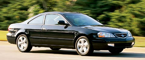 2001 acura cl price review specs road test motor trend. Black Bedroom Furniture Sets. Home Design Ideas