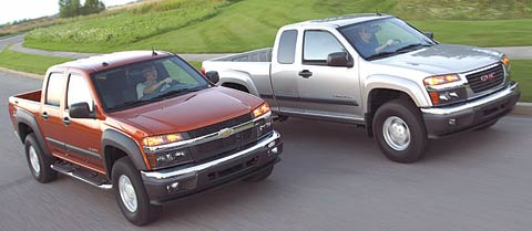 2004 chevrolet colorado review specs price road test. Black Bedroom Furniture Sets. Home Design Ideas